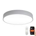 Immax NEO 07143-GR80 - Himmennettävä LED-valo RONDATE LED/65W/230V Tuya harmaa + kaukosäädin