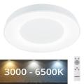 Rabalux - LED-himmennettävä kattovalaisin LED / 38W / 230V valkoinen + RC 3000-6500K